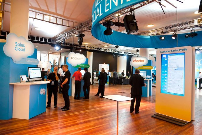 The benefits of using exhibition stands