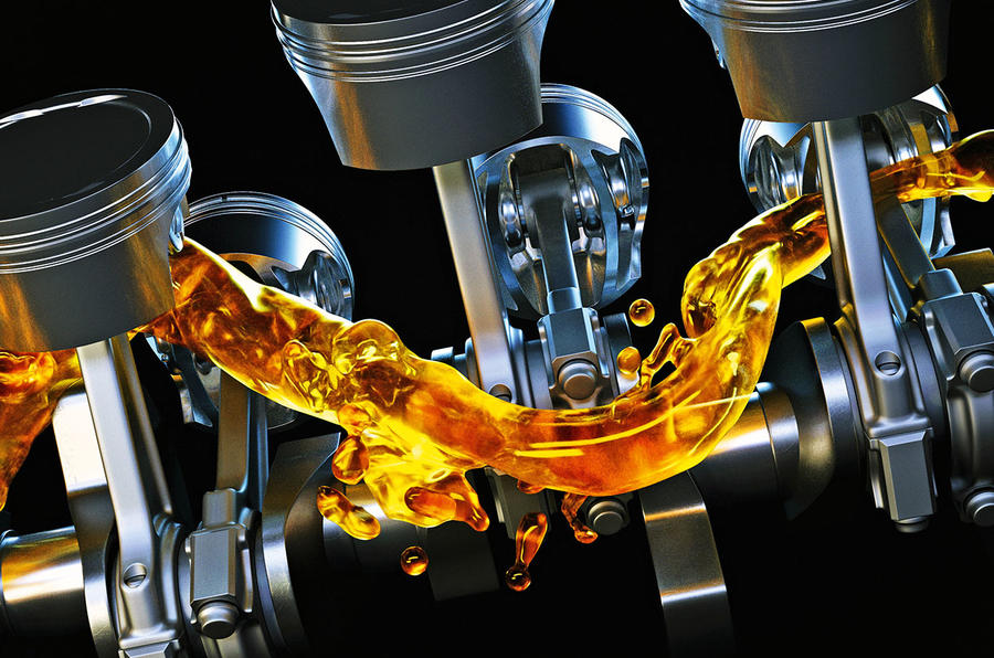 Three different kinds of lubricants